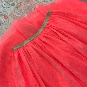 NWOT Cat & Jack Hot Pink Tulle lined long skirt